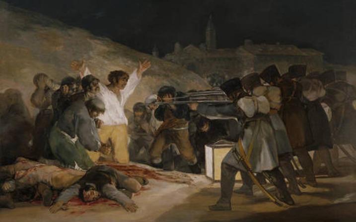 Los fusilamientos en la montaña del Príncipe Pío