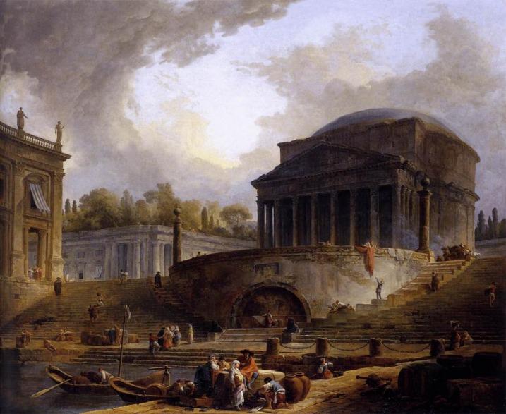 Hubert Robert en Roma