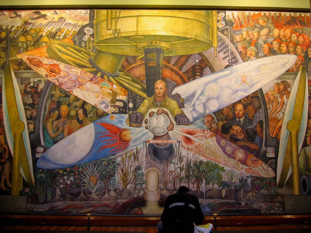 Hombre En La Encrucijada De Diego Rivera Tuitearte