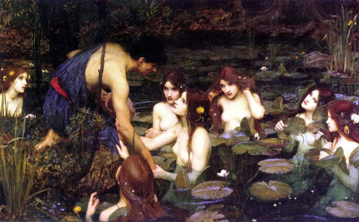 Cuadro de John William Waterhouse