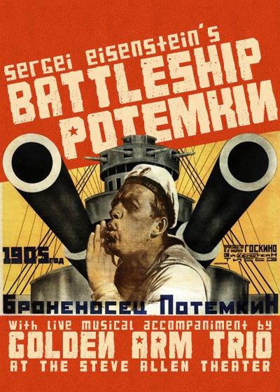 Pelicula rodada por Eisenstein sobre la revolución rusa de 1905