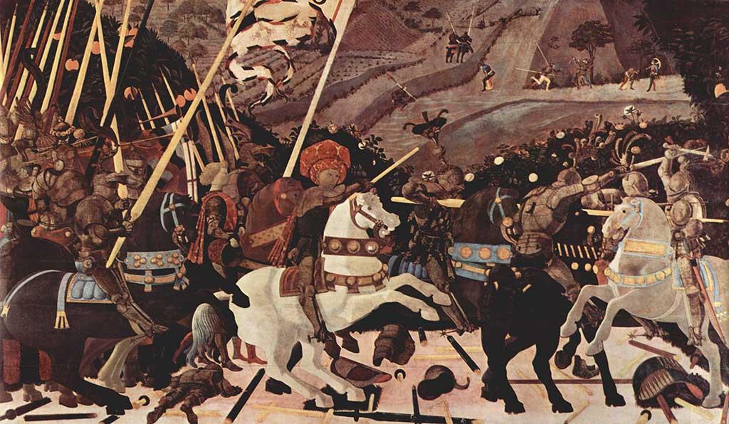 Arte, pintura, cuadro, renacimiento, Paolo Uccelo, Tabla, Temple