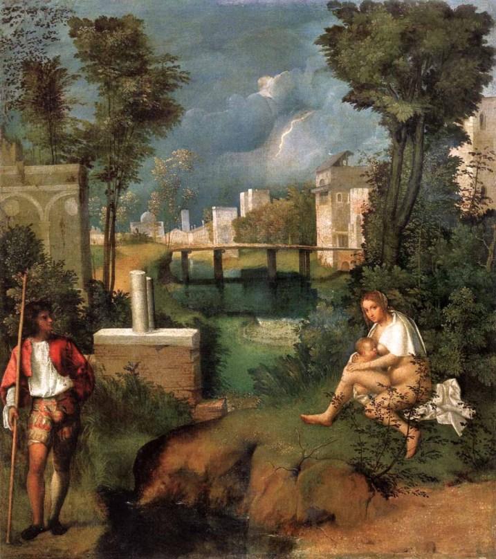 Arte, pintura, cuadro, historia del arte, giorgione, venecia