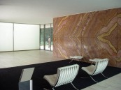 Mies Van der Rohe, arte, arquitectura, historia del arte, movimiento moderno, bauhaus, silla barcelona, diseño, lily reich