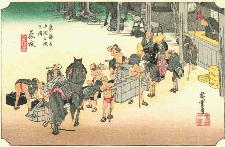 arte, historia del arte, grabado, cuadro, pintura, estampa, plancha, arte japones, grabado ukiyo-e, grabados del mundo flotante, Edo, Tokio, Japón