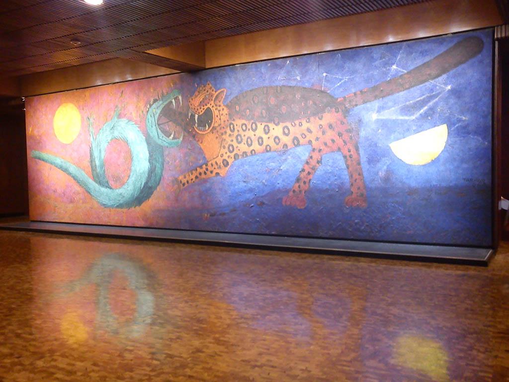 La lucha del d a y la noche de rufino tamayo tuitearte for El mural de siqueiros pelicula