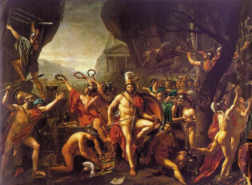 historia del arte, arte, pintura, romanticismo, clasicimo, Jacques Louis David, Napoleón