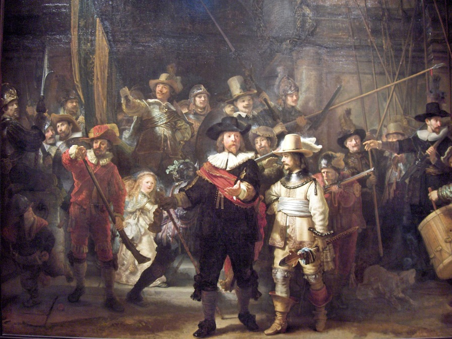 Arte, histiria del arte, Rembrandt, tenebrismo