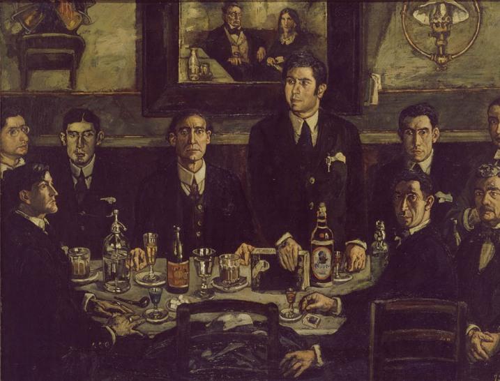 Arte, historia del arte, pintura, novecentismo, Ramón Gómez de la Serna,