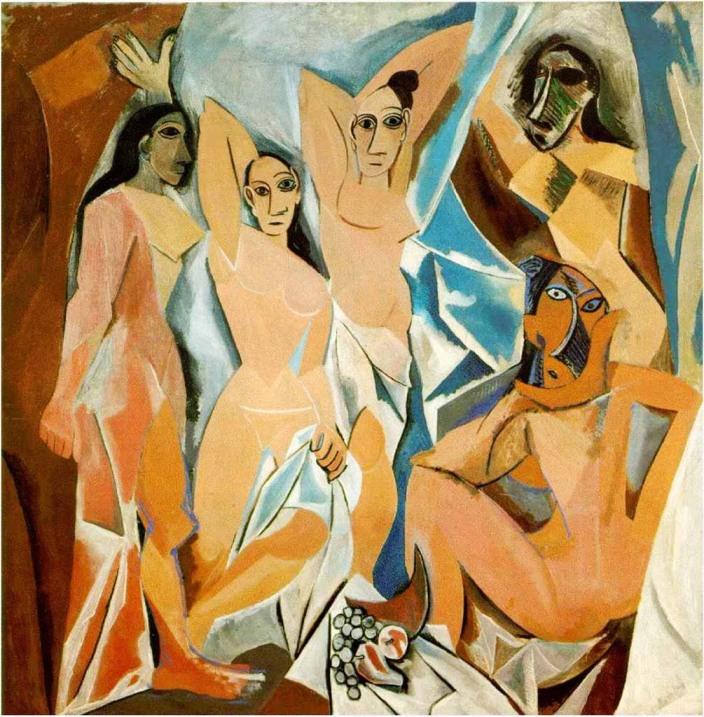 cubismo, arte, historia del arte, pintura, Pablo Picasso