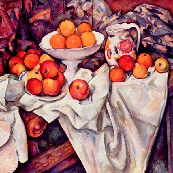 Bodegón de Cézanne