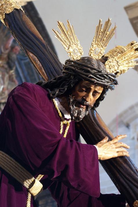 Cristo de pasión el jueves santo