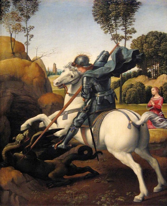 Sant George and the Dragon
