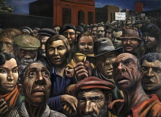 """""""Manifestación"""" de Antonio Berni"""