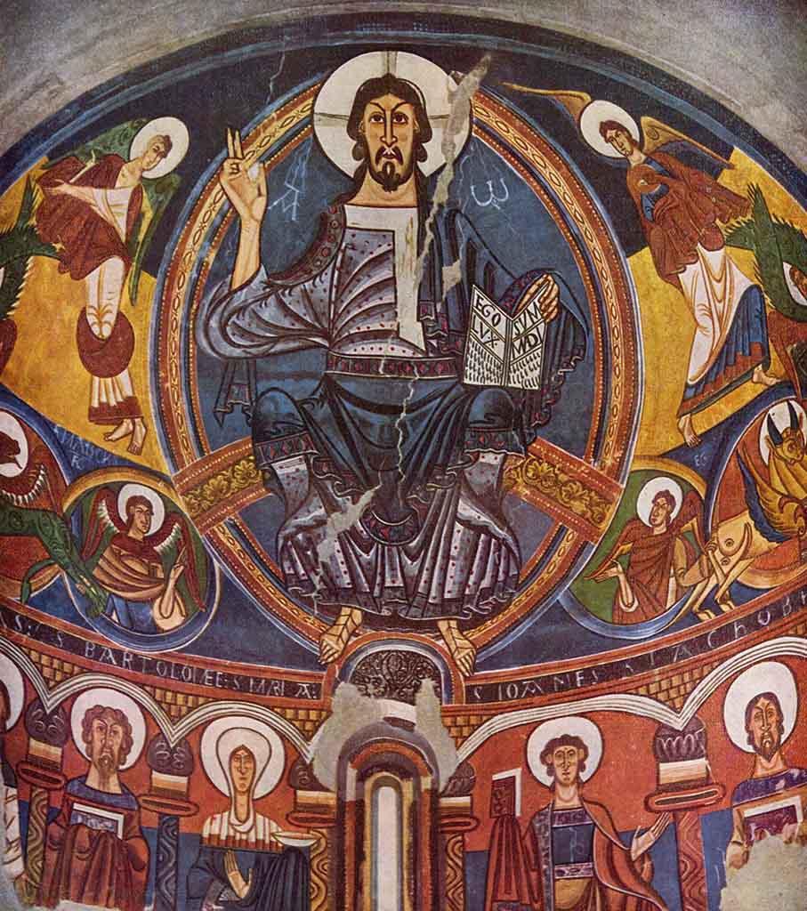 Cristo en majestad de Tahull