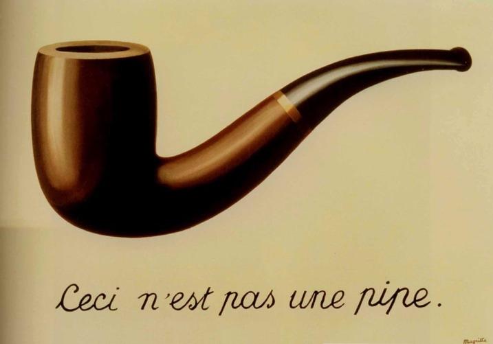 René Magritte. 1929. Óleo sobre lienzo. 60 x 81 cm. Los Angeles County Museum of Art Fotografía