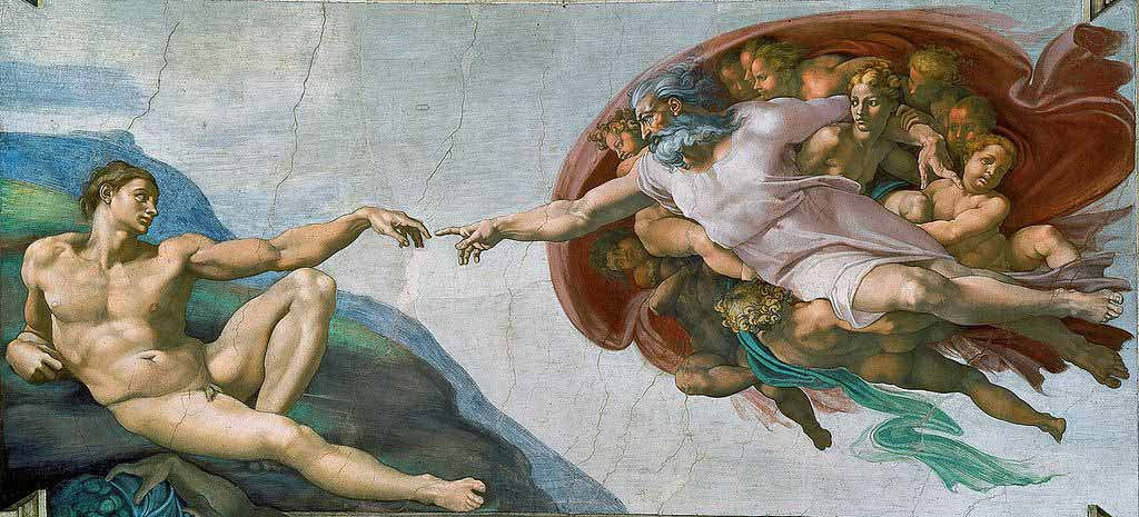 ... Dios y yo ... - Página 3 La-creacic3b3n-de-adc3a1n-de-miguel-c3a1ngel