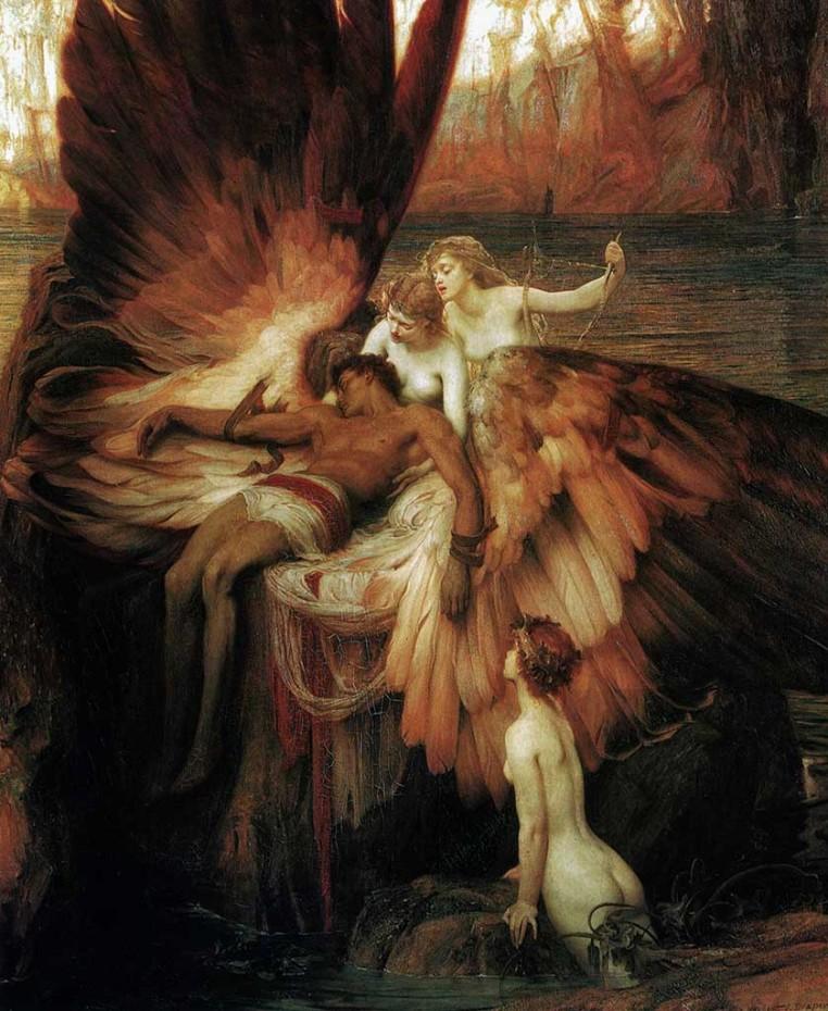 Mito de Ícaro por Herbert Draper