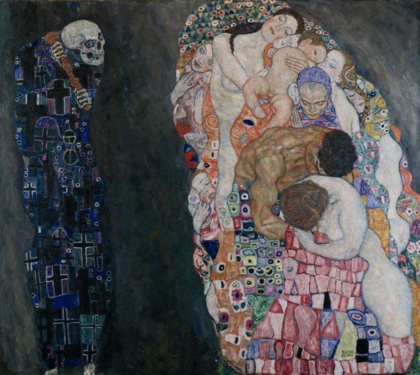 Cuadro de Klimt en el Museo Leupold de Viena