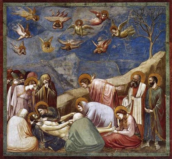 llanto por la muerte de cristo