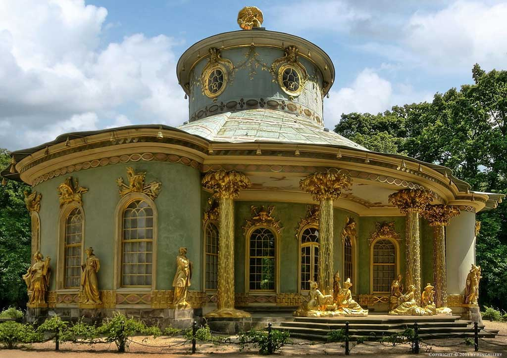 Pabellón chino de Sanssouci