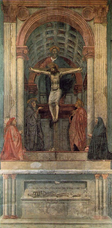 Masaccio en Santa María Novella